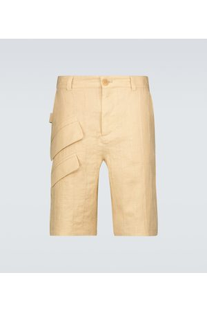 Jacquemus Miehet Bermuda - Le Short Raphia Bermuda shorts