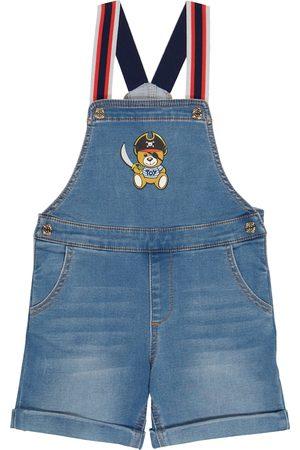 Moschino Baby denim overalls