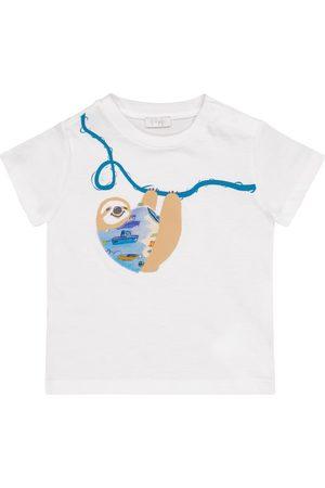 adidas Baby appliquéd cotton T-shirt