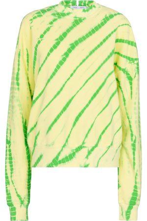 Proenza Schouler White Label tie-dye cotton sweatshirt