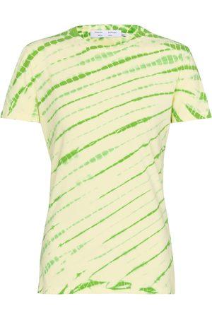adidas White Label tie-dye cotton T-shirt