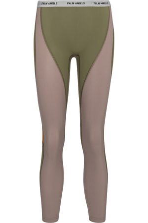 Palm Angels Naiset Leggingsit - High-rise stretch-jersey leggings