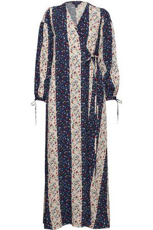adidas D1. Liberation Flower Wrap Dress Dresses Wrap Dresses
