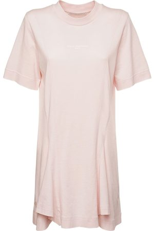 Stella McCartney Naiset Rennot Mekot - Logo Organic Cotton Jersey Dress