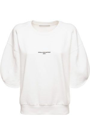 Stella McCartney Logo Organic Cotton Jersey Sweatshirt