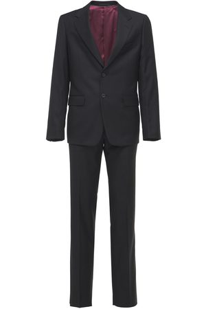 Gucci Miehet Puvut - Natural Wool Blend London Suit