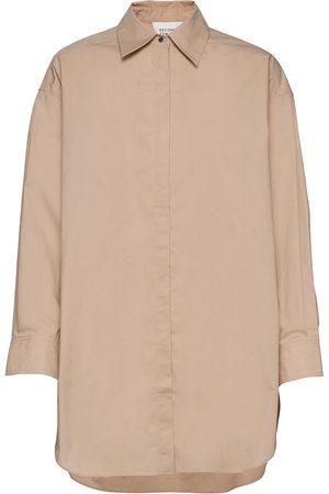 Second Female Brooklyn Shirt Pitkähihainen Paita Vaaleanpunainen