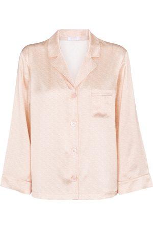 ERES Lettre silk-satin blouse