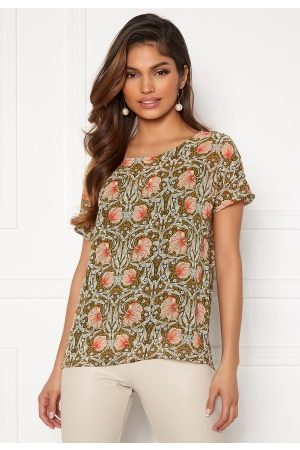 Object Steph Urban SS Top Forest Night AOP Flo 36
