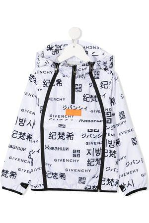 Givenchy Bomber - Logo-print hooded jacket