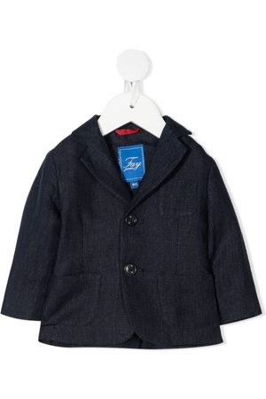 FAY KIDS Notched-lapel single-breasted blazer
