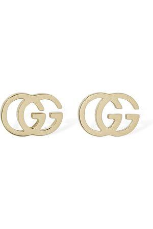 Gucci Naiset Korvakorut - 18kt Gg Tissue Stud Earrings
