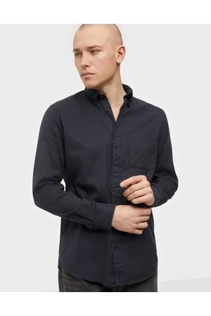 Selected Miehet Bleiserit - Slhregrick-Soft Shirt Ls s Noos Kauluspaidat Navy Blazer