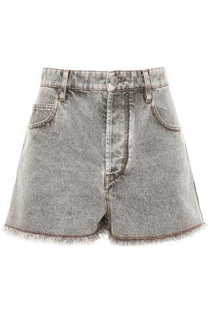 Isabel Marant Lesiasr Denim Shorts