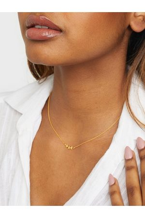 syster P Snap Necklace Triple Star Kulta