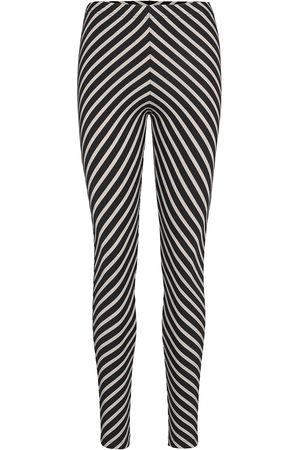 Papu Stripe Leggings Multicolor Leggingsit Musta