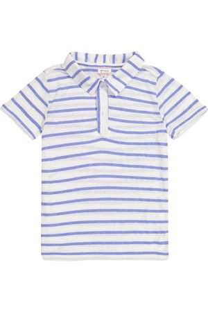 MORLEY Nemo striped polo shirt