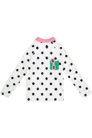 The Marc Jacobs Polka dot swimming top