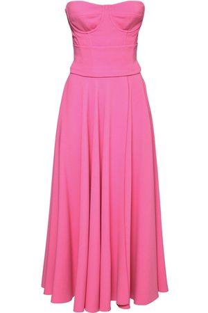 Dolce & Gabbana Naiset Midimekot - Pleated Viscose Cady Midi Dress