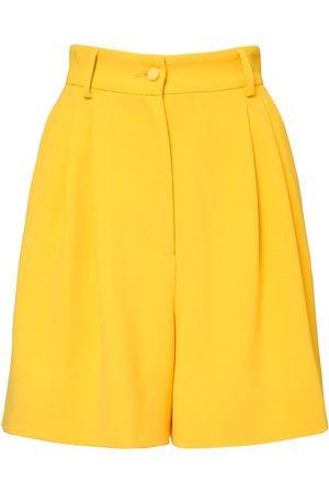 Dolce & Gabbana Naiset Bermuda - Stretch Viscose Cady Bermuda Shorts