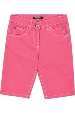 Balmain Tytöt Farkkushortsit - Cropped jeans