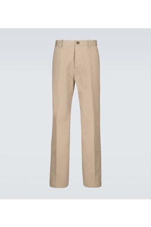 Bottega Veneta Miehet Chinot - Herringbone cotton pants