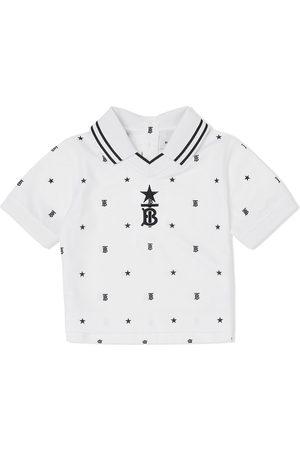 Burberry Star and monogram polo shirt
