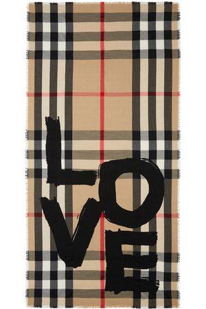 Burberry Huivit - Love-print Vintage Check scarf