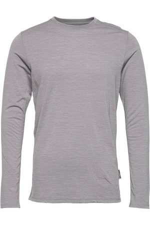 Dovre Model 14 100% Wool T-shirts Long-sleeved Harmaa