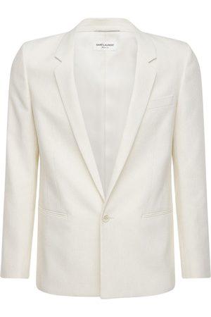 Saint Laurent Miehet Päällystakit - Single Breast Silk Blend Jacket