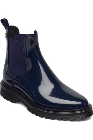 LEMON JELLY Block 17 Shoes Boots Ankle Boots Ankle Boot - Flat Sininen