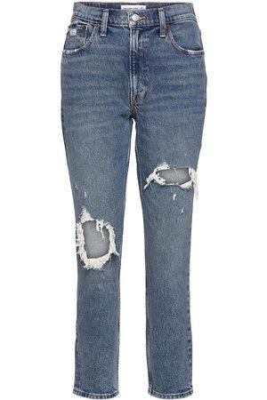 Abercrombie & Fitch Anf Womens Jeans Boyfriend Farkut Sininen