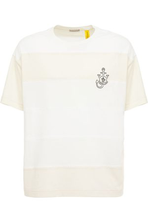 Moncler Genius Jw Anderson Color Block Jersey T-shirt