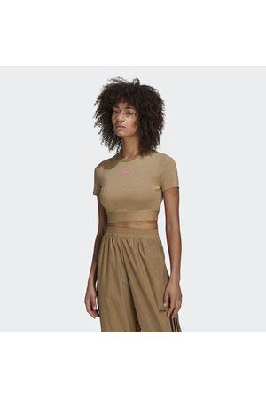 adidas Naiset T-paidat - R.Y.V. Cropped Tee