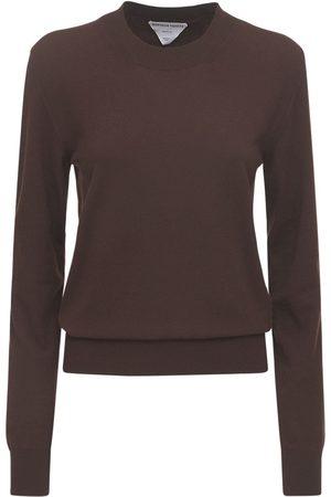 Bottega Veneta Naiset Collegepaidat - Cashmere Knit Crewneck Sweater