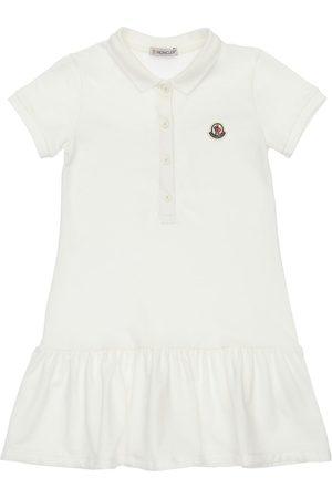 Moncler Cotton Polo Shirt Dress