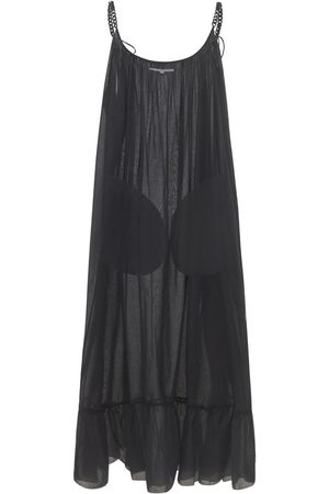Stella McCartney Naiset Maksimekot - Iconic Cotton Voile Chain Long Dress