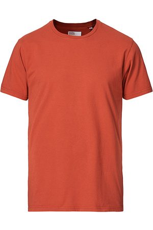 Colorful Standard Miehet T-paidat - Classic Organic T-Shirt Dark Amber