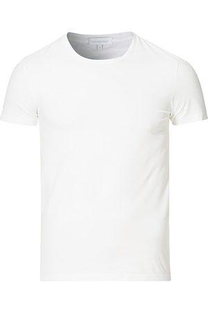 Ermenegildo Zegna Miehet T-paidat - Cotton Stretch Crew Neck T-Shirt White