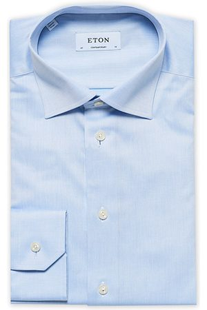 Eton Miehet Paidat - Contemporary Fit Shirt Blue