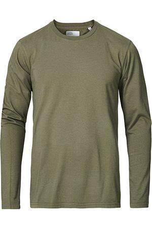 Colorful Standard Miehet T-paidat - Classic Organic Long Sleeve T-shirt Dusty Olive