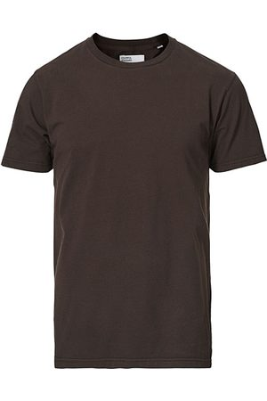 Colorful Standard Miehet T-paidat - Classic Organic T-Shirt Coffee Brown