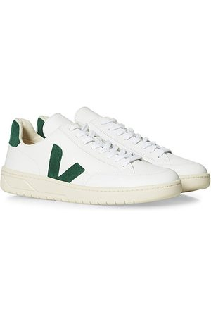 Veja Miehet Tennarit - V-12 Leather Sneaker Extra White/Cyprus