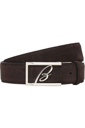 BRIONI Miehet Vyöt - 3.5cm New Elty Leather Belt