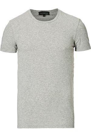 Ermenegildo Zegna Miehet T-paidat - Cotton Stretch Crew Neck T-Shirt Grey Heather