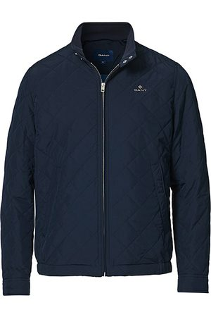 GANT Miehet Päällystakit - The Quilted Windcheater Evening Blue