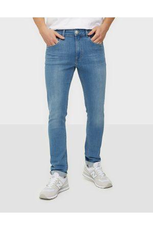 Casual Friday Miehet Skinny - RY Jeans Farkut Light Blue Denim