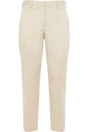 Neil Barrett Slim Stretch Cotton Pants