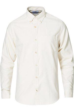 NN.07 Levon Oxford/Cashmere Shirt Egg White