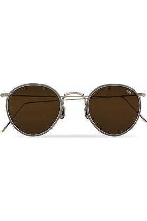 Eyevan 7285 717W Sunglasses Silver